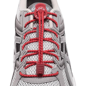 Lock Laces Run Laces rosso